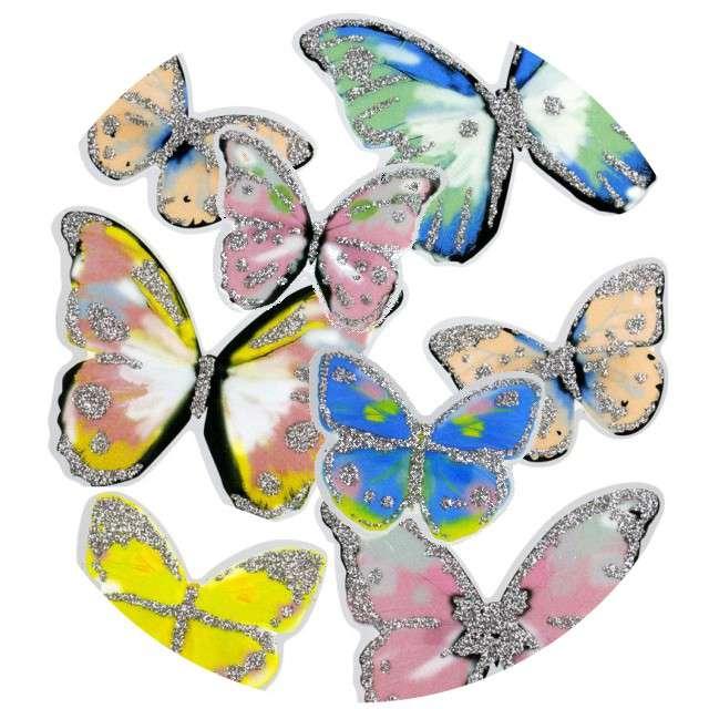 """Naklejki """"Motyle błyszczące"""", Titanum"""