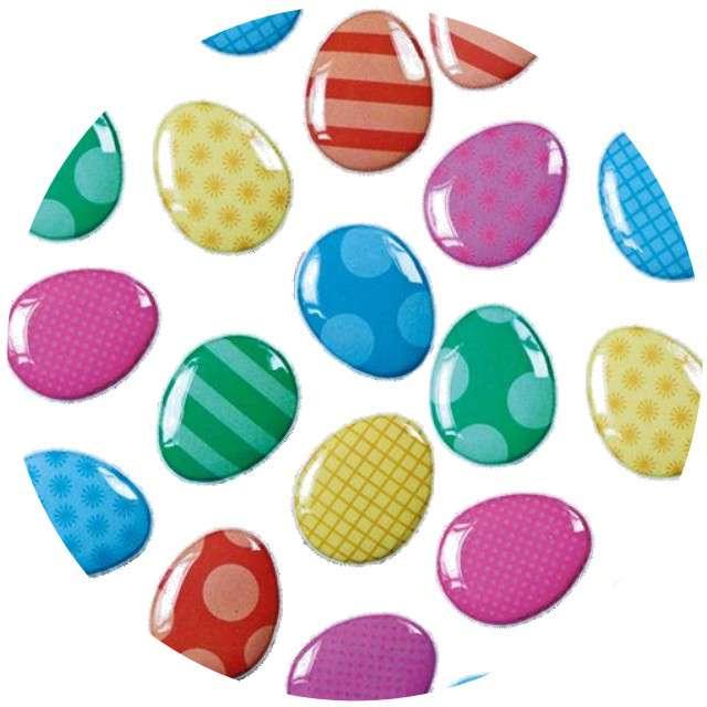 """Naklejki """"Wypukłe - wielkanocne jajeczka"""", Titanum"""