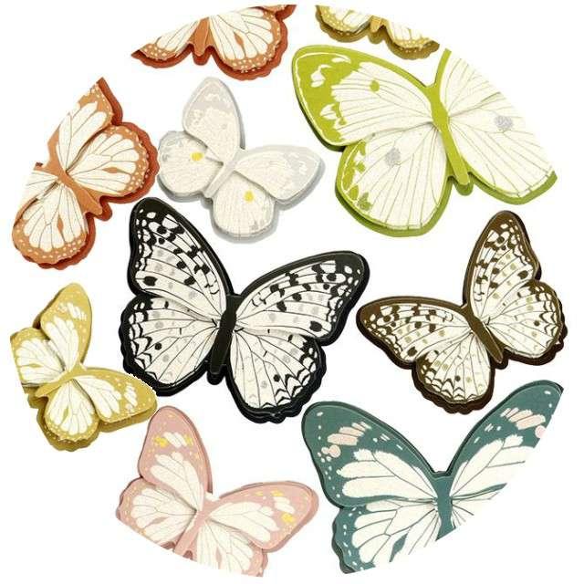 "Naklejki ""Motylki dwukolorowe"", Titanum"