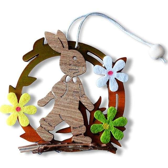 """Dekoracja """"Wielkanoc - królik kroczący"""", Titanum"""