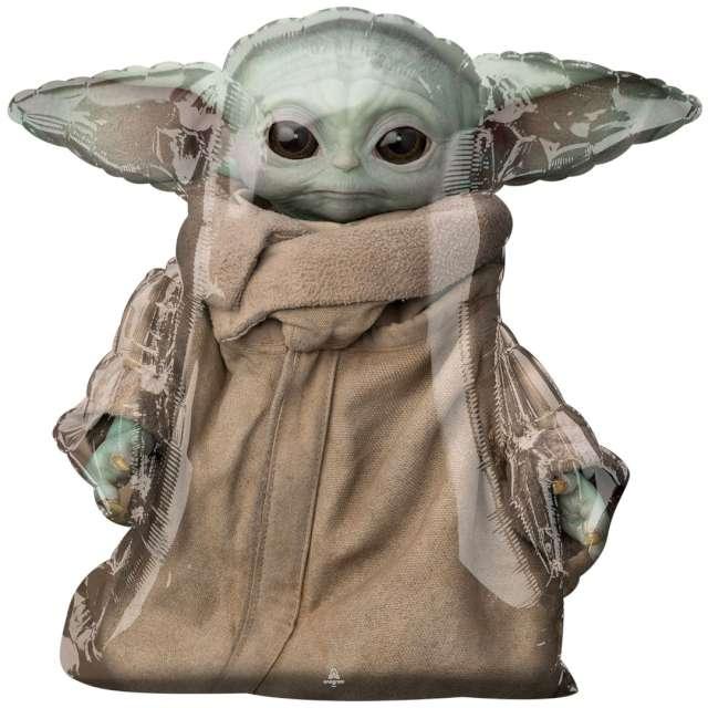"Balon foliowy ""Baby Yoda - The Mandalorian"", Amscan, 31"" SHP"