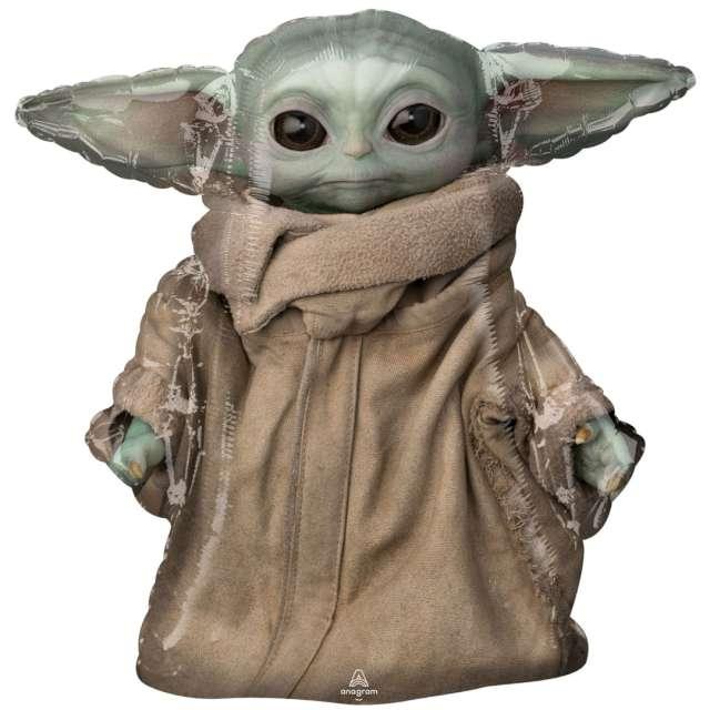 "Balon foliowy ""Baby Yoda - The Mandalorian"", Amscan, 26"" SHP"