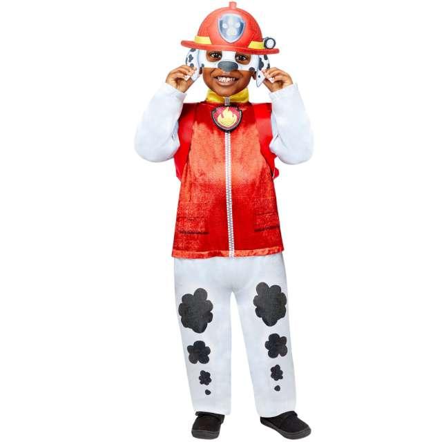 """Strój dla dzieci """"Paw Patrol Marshall"""", z plecakiem i maską, Amscan, 3-4 lat"""