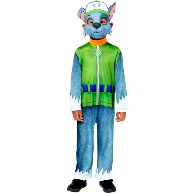 """Strój dla dzieci """"Paw Patrol Rocky"""", z maską, Amscan, 4-6 lat"""