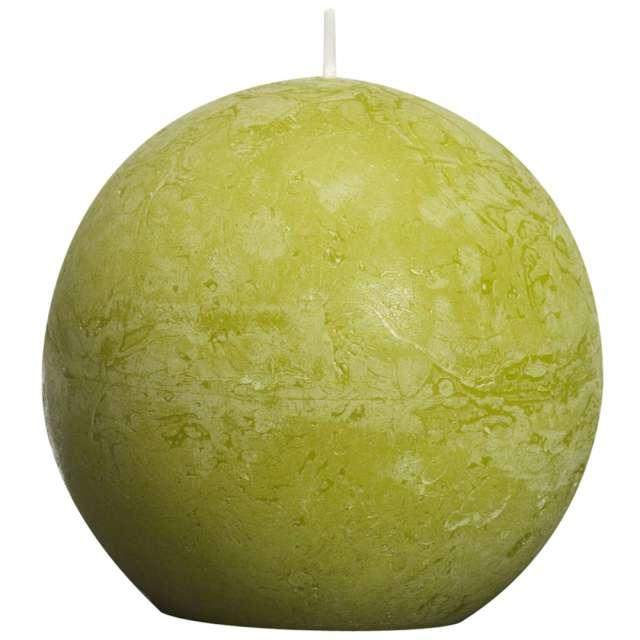 """Świeca """"Rustic Kula"""", zielony trzcinowy, Bolsius, 80 mm"""