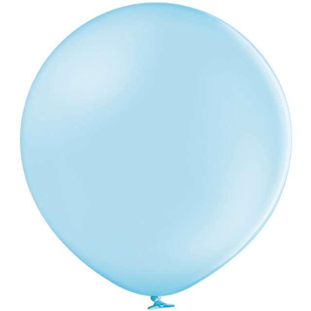 "Balon ""MEGA Pastel"", niebieski jasny, 36"", BELBAL"
