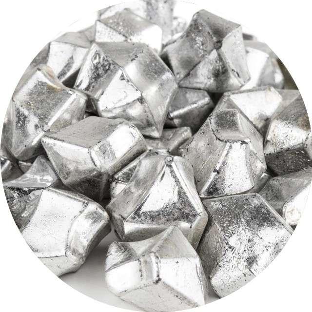 """Konfetti """"Kryształowy lód"""", srebro, Czakos, 50 szt"""