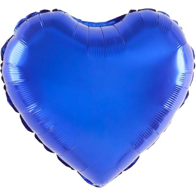 "Balon foliowy ""Serce"", chabrowy, 18 cali, PartyPal, HRT"