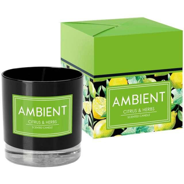 _xx_?wieca sn81 ambient-citrus&herbs 277 czarna