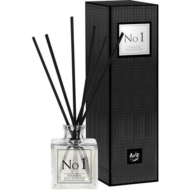 """Odświeżacz zapachowy """"Premium No 1"""", patyczki, Bispol, 80 ml"""