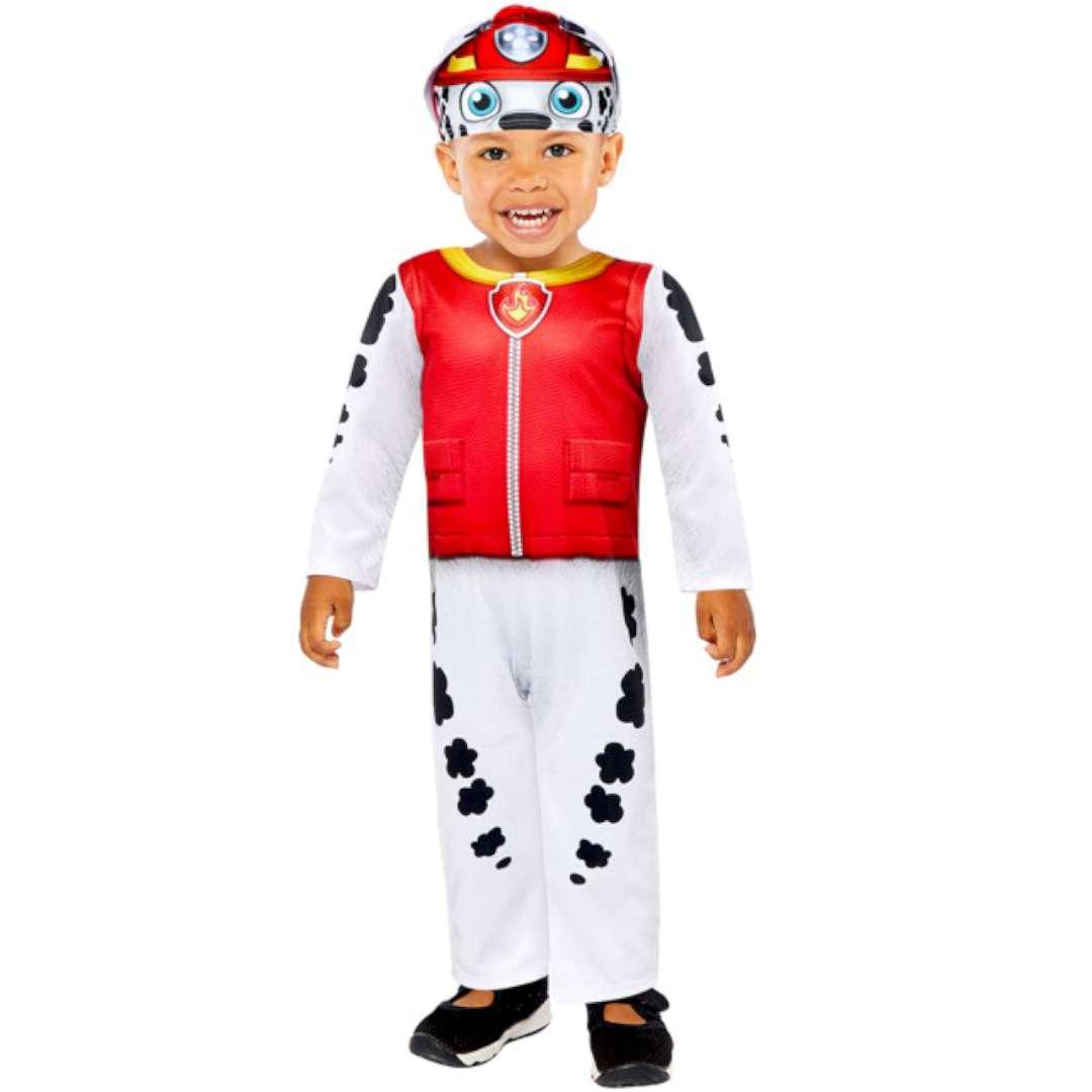 """Strój dla dzieci """"Paw Patrol Marshall"""", z czapką, Amscan, 1,5-2 lat"""