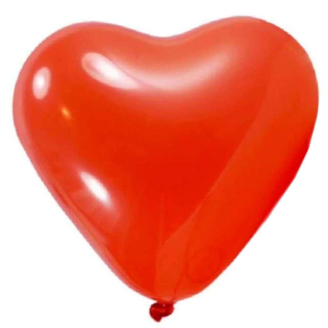 """Balon """"Duże serce czerwone"""", DekoracjaPolska, 35,5"""", HRT"""
