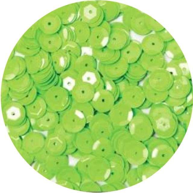 "Cekiny ""Classic Pastel"", zielone jasne, 8 mm, 10 g, Aliga"