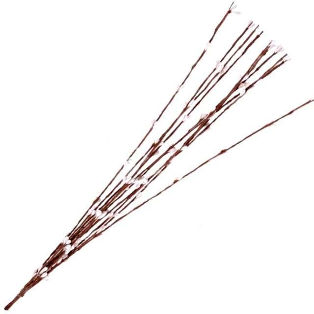 """Ozdoba papierowa """"Bazie na druciku"""", Aliga, 40cm, 10szt"""