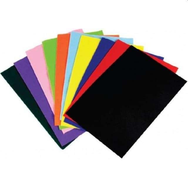 Arkusze filcowe A4 Kolor Mix Aliga 10 kol.