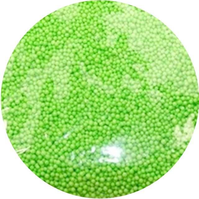 "Styropian ""Kuleczki 4 mm"", zielone, Aliga, 10 g"