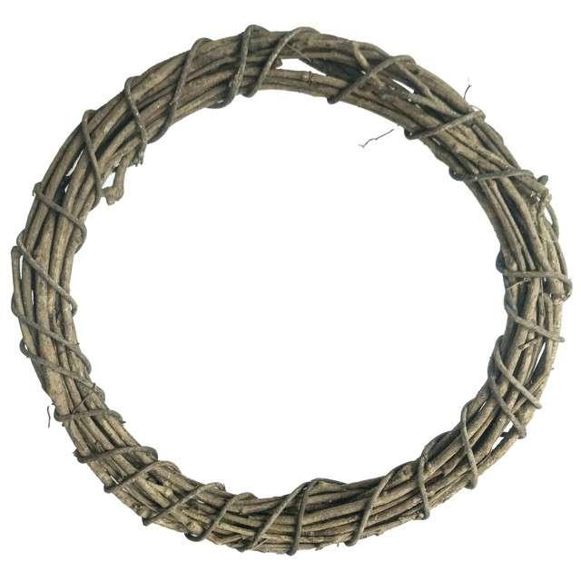 """Ozdoba """"Ring rattanowy"""", naturalny, Aliga, 30 cm"""