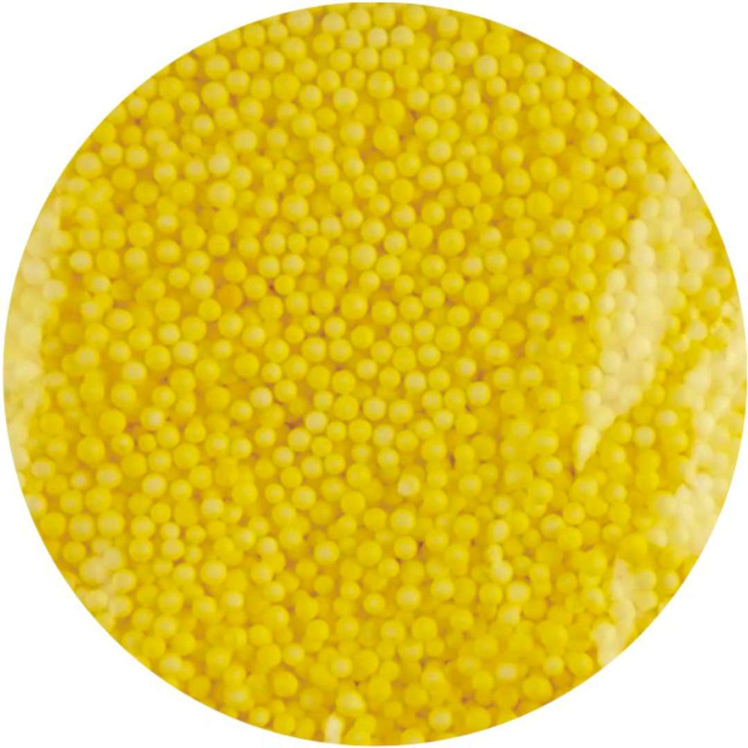 "Styropian ""Kuleczki 4 mm"", żółte, Aliga, 10 g"