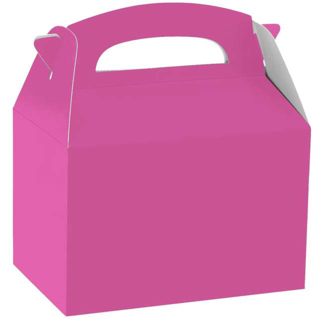 "Pudełka na ciasto ""Classic mini - różowe"", Amscan, 5 szt"