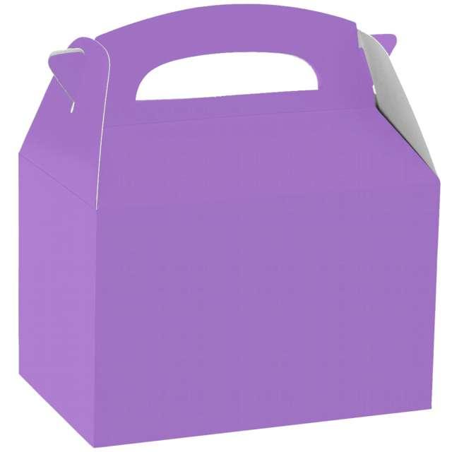 Pudełka na ciasto Classic mini - fioletowe jasne Amscan 5 szt