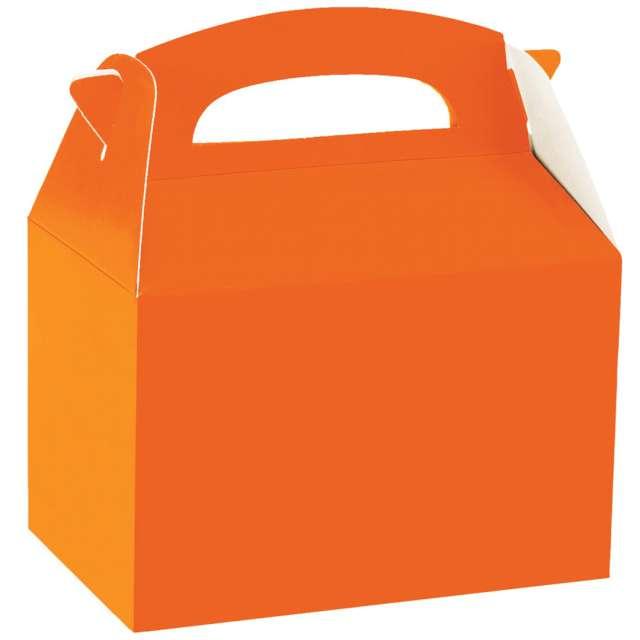 "Pudełka na ciasto ""Classic mini - pomarańczowe"", Amscan, 5 szt"