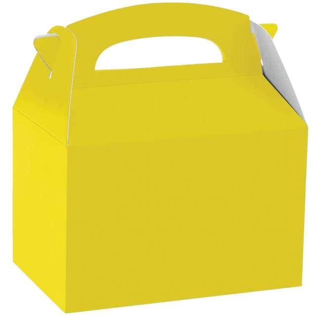 "Pudełka na ciasto ""Classic mini - żółte"", Amscan, 5 szt"