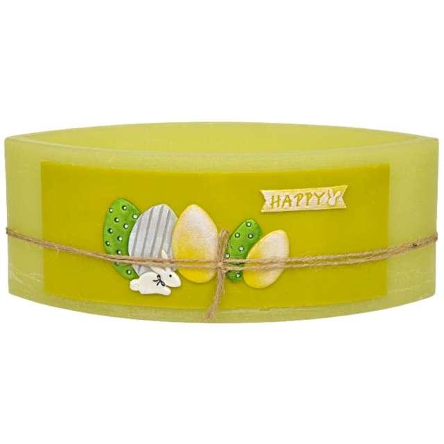 "Lampion ""Wielkanocna łezka - jajka"", zielony, Adpal, 110/290  mm"