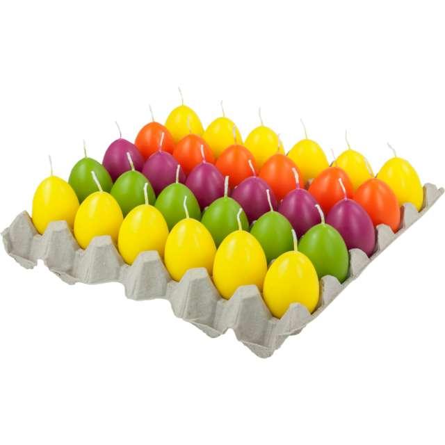 Świeca Wielkanocne jajko zielone jabłuszko Bolsius 60/45