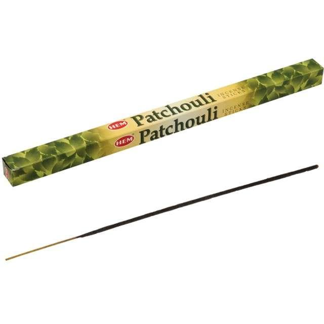 Kadzidełka indyjskie Zapach - paczuli długie Ravi 8szt