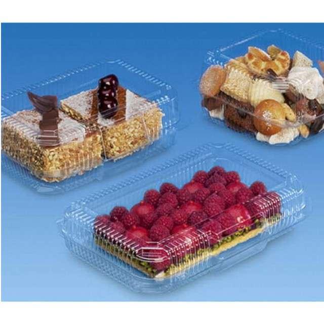 Pojemniki Plastikowe na ciasto XL Ravi 10 szt