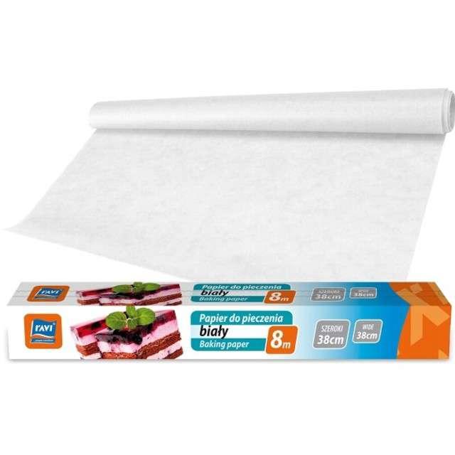 """Papier do pieczenia """"Classic-arkusze"""", biały, Ravi, 38cm, 8m"""