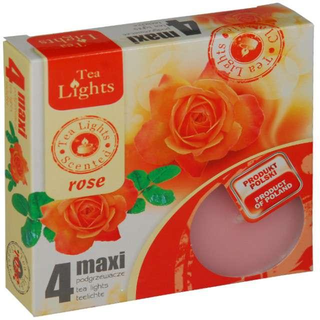 """Podgrzewacz zapachowy """"Maxi - Rose"""", Ravi, 4 szt"""