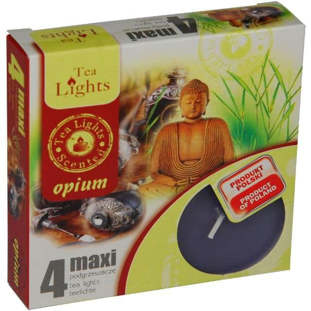 """Podgrzewacz zapachowy """"Maxi - Opium"""", Ravi, 4 szt"""