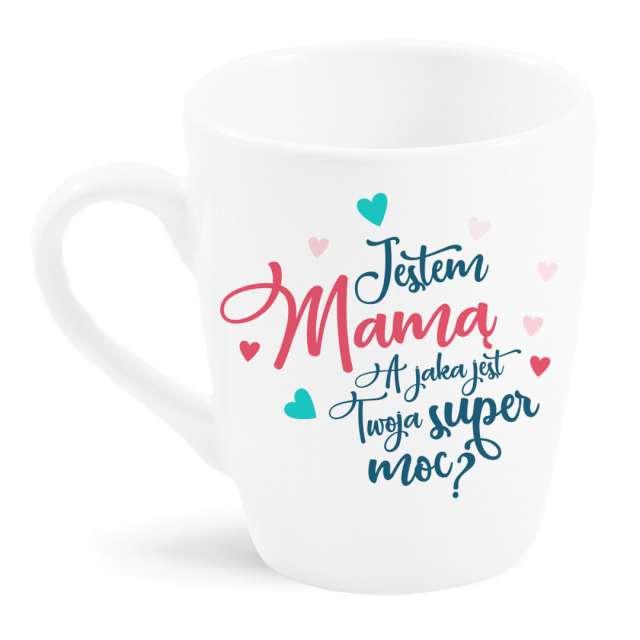 """Kubek z nadrukiem """"Jestem mamą"""", BGTech, 300 ml"""
