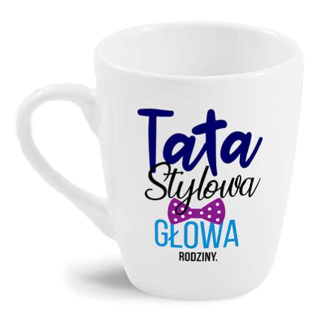 """Kubek z nadrukiem """"Tata stylowa..."""", BGTech, 300 ml"""