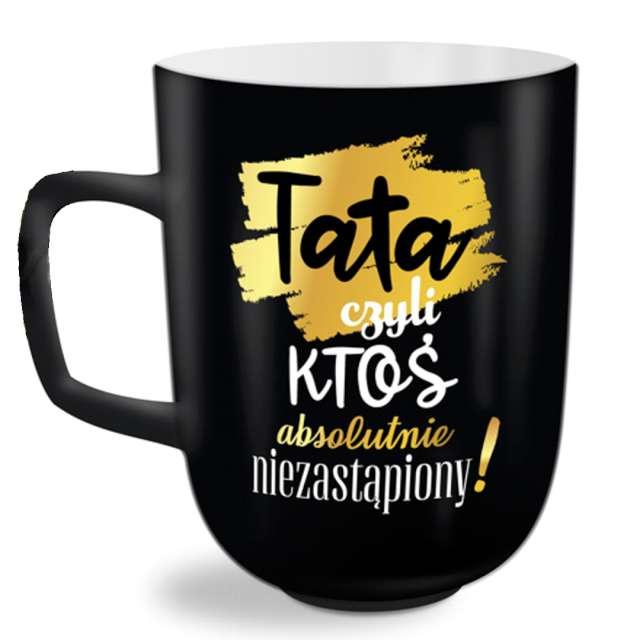 """Kubek z nadrukiem """"Tata czyli ktoś..."""", BGTech, 350 ml"""