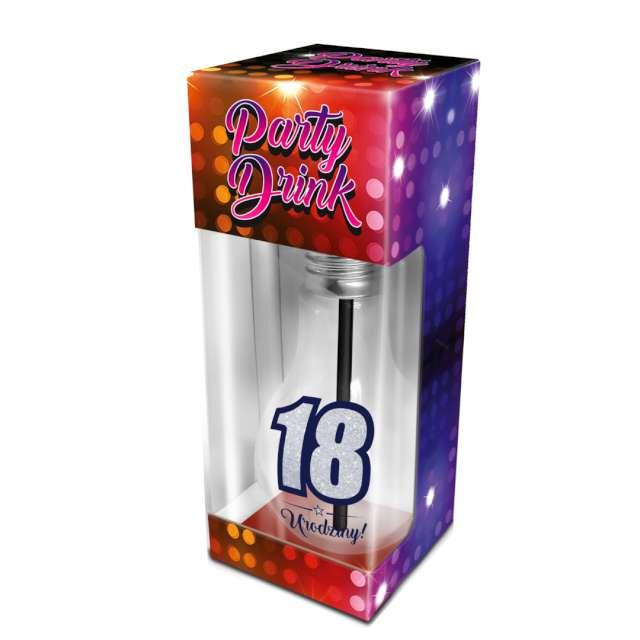 _xx_PARTY DRINK - szklanka żarówka 400ml - 18 uro