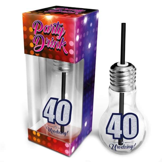 _xx_PARTY DRINK - szklanka żarówka 400ml - 40 uro