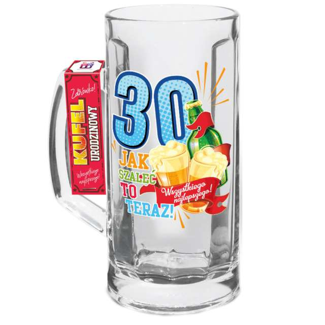 """Kufel """"Urodzinowy luz 30"""", BGTech"""