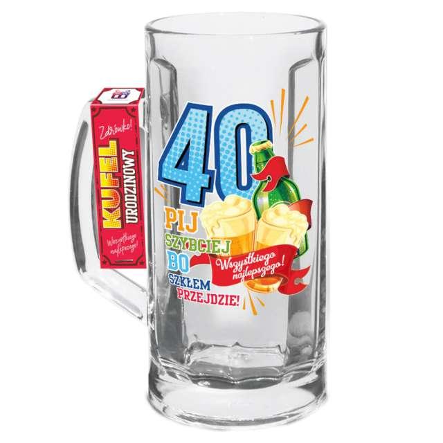 """Kufel """"Urodzinowy luz 40"""", BGTech"""