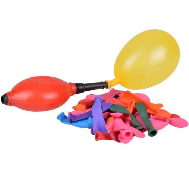 """Balony """"Bomby wodne z pompką"""", czerwona, Arpex, 45 szt."""