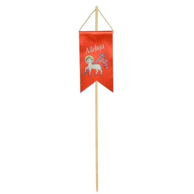 """Pikery """"Chorągiewka wielkanocna owca z krzyżem"""", czerwona, Arpex"""