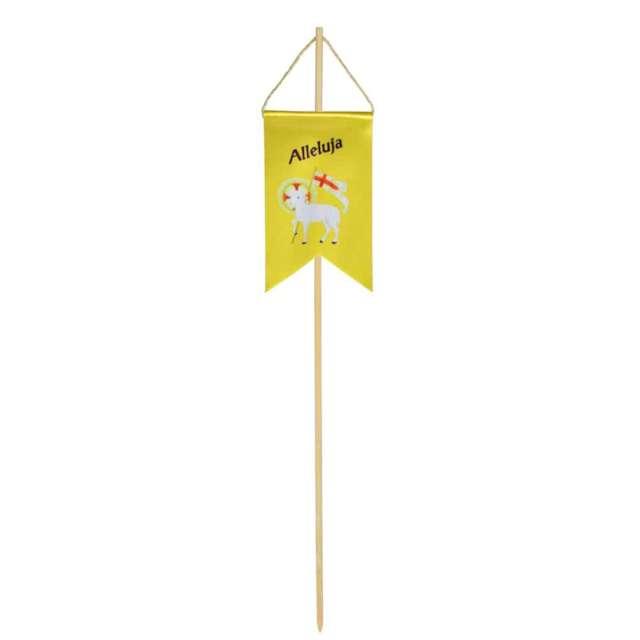 """Pikery """"Chorągiewka wielkanocna owca z flagą"""", żółta, Arpex"""