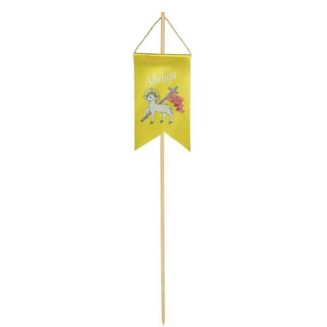 """Pikery """"Chorągiewka wielkanocna owca z krzyżem"""", żółta, Arpex"""