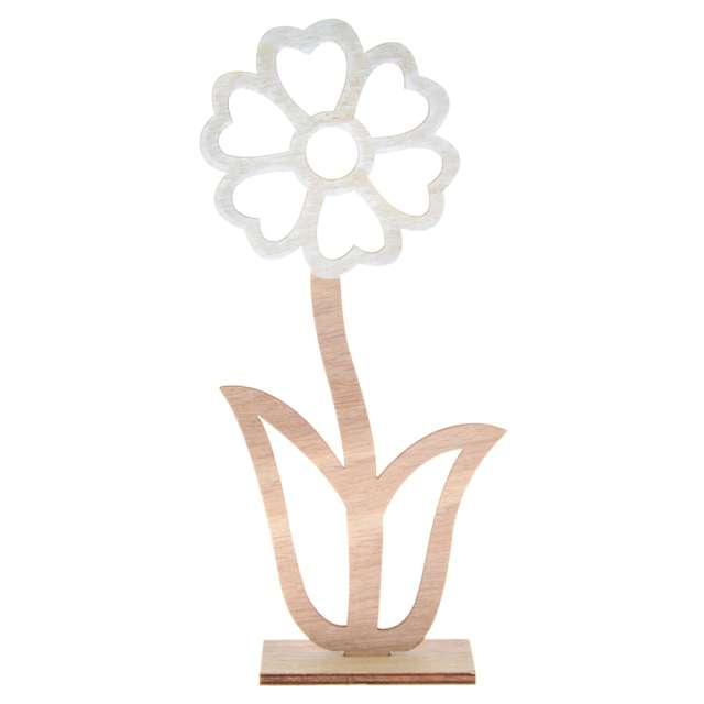 """Dekoracja drewniana """"Kwiat - Stokrotka"""", Arpex, 22 cm"""