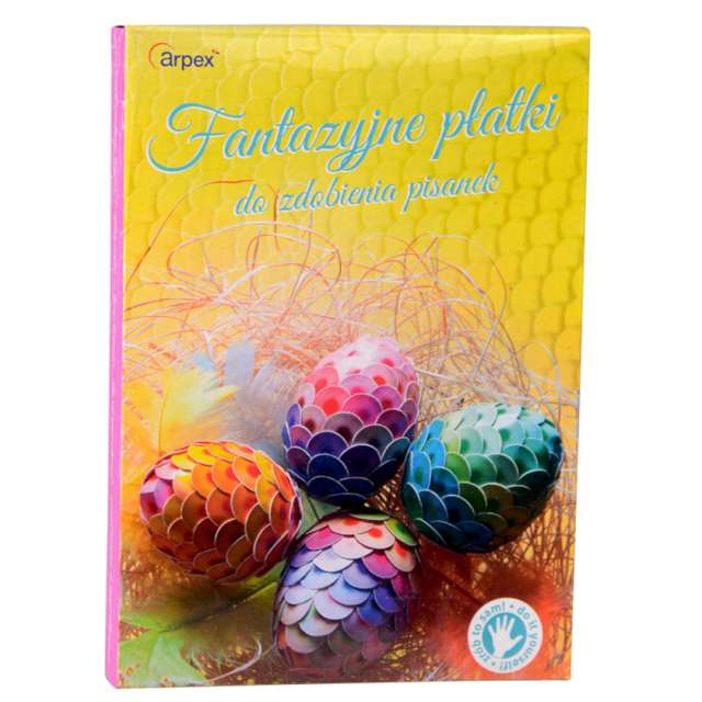 """Zestaw do zdobienia jajek """"Fantazyjne płatki"""", Arpex"""