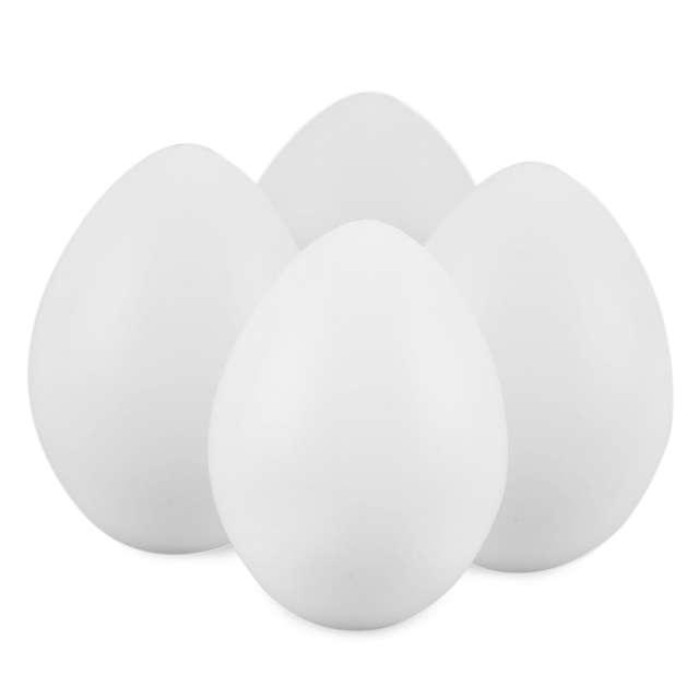 """Jajka plastikowe """"Classic"""", białe, Arpex, 7 cm, 4 szt"""