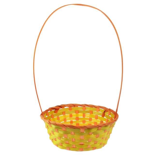 """Koszyk wilkanocny """"Classic"""", żółto-pomarańczowy, Arpex"""