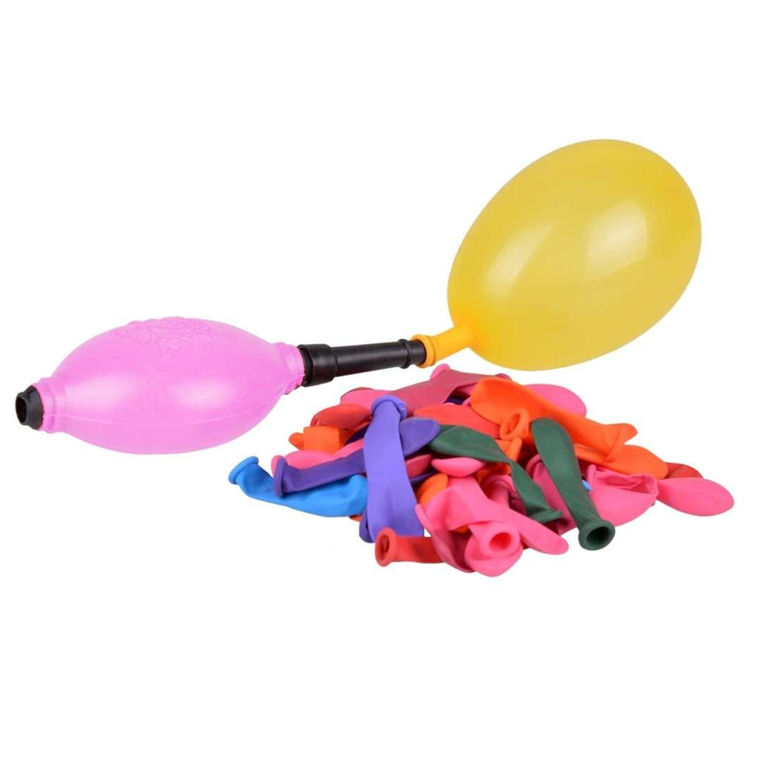 """Balony """"Bomby wodne z pompką"""", różowa, Arpex, 45 szt."""