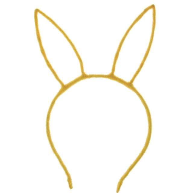 Opaska party Uszy Zajączka żółta Arpex
